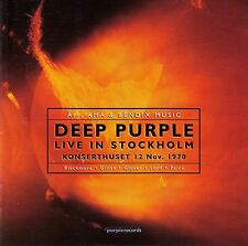 Deep PURPLE: Live in Stockholm 1970/2 CD-SET-NUOVO