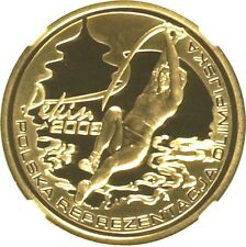 2008 Poland Gold Coin 200 Zloty 29th Olympic Game in Beijing NGC PF69 Box COA