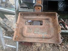 LARGE BATTERY TRAY - REMOVED FROM FORDSON MAJOR