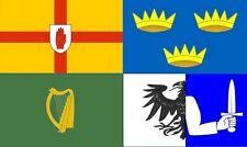 8' x 5' IRELAND 4 PROVINCES FLAG Irish Counties Connacht Leinster Munster Ulster