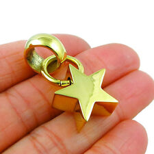 CELESTIAL STAR lucidato ottone ciondolo in un sacchetto regalo
