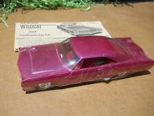 AMT 1965 Buick Wildcat  1/25 Plastic Model Kit Car Old Build Restore ?  3 in 1