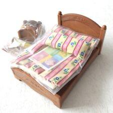Epoch Calico Critters Sylvanian Families furniture SemiDouble bed set Ka-512 NEW