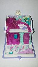 1995 Vintage Polly Pocket Sparkle Snowland Book Compact Bluebird NO Figures