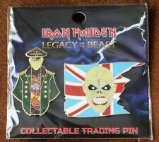 More details for iron maiden legacy of the beast corrupt general & trooper metal pin badge set
