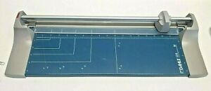 """Dahle Rolling Rotary Paper Cutter Trimmer 18"""""""