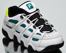 Fila Uproot Men's White Everglade Chunky Casual Lifestyle Sneakers Shoes
