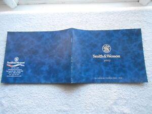 SMITH & WESSON 2002 CATALOG