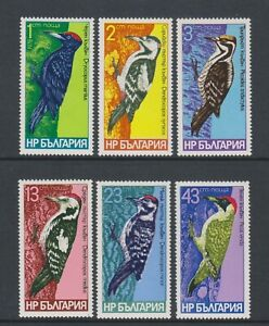 Bulgaria - 1978, Woodpeckers, Birds set - MNH - SG 2680/5