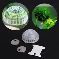 Aquarium Suspension Floating Moss Filter Ball Fish Tank Live Plant Holder #ST4
