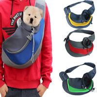 Pet Cat Dog Carrier Handbag Shoulder Bag Travel Tote Front Mesh Bag Small Large