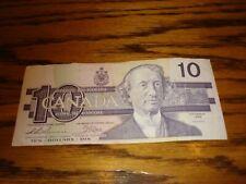 1989 - Canadian ten dollar bill - $10 Canada note - AEN1822563