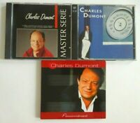 CHARLES DUMONT (4 disques) ♦ lot 3 x CD Album ♦  inclus BEST OF