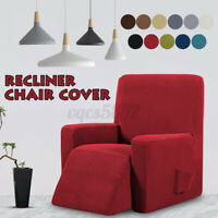 Stretch Recliner Slipcover Soft Armchair Single Chair Cover Furniture Protector