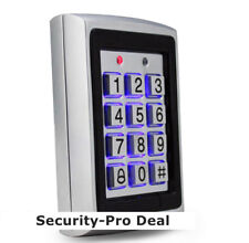Metal 125KHz RFID Card + Password Security Door Access Control Keypad Backlight