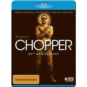 Chopper : 20th anniversary edition (BLU RAY) Region free  -sealed preorder