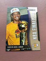 Kareem Abdul-Jabbar 2019-20 Panini Prizm NBA FINALISTS Insert Card