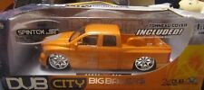 Jada Dub City Big Ballers 1/18 Scale Dodge Ram Orange Diecast w/ 24's New