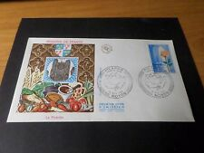 FRANCE 1975, FDC 1° JOUR, LA PICARDIE, ARMOIRIES, FLEUR, ROSE, FLOWERS