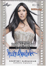 2011 POP CENTURY PREVIEW AUTO:KOURTNEY KARDASHIAN #1/25 AUTOGRAPH KIM SISTER 1/1