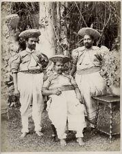 c.1890's PHOTO CEYLON - KANDIAN CHIEFS