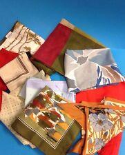 10 Jacqmar Scarves Vintage Various Colours VGC Job Lot