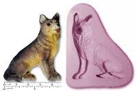 DOG; German SHEPHERD / ALSATION Craft Sugarcraft Fimo Sculpey Silicone Rubber M