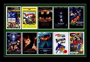 BATMAN -  FILM POSTERS POSTCARD SET # 1