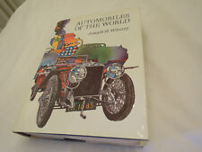 Automobiles of the World by Joseph Wherry Nice Clean Condition Free Shipping