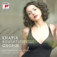 "KHATIA/ORCHESTRE DE PARIS/JÄRVI,PA BUNIATISHVILI ""CHOPIN"" CD NEUF"