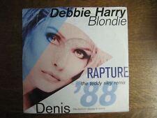 DEBBIE HARRY BLONDIE 45 TOURS GERMANY RAPTURE REMIX