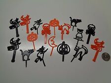Vintage FALL HALLOWEEN Cake Toppers Picks Decorations CORSAGES