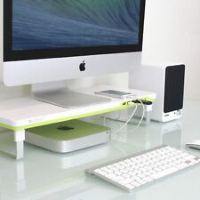 Computer Monitor Riser Stand Home Office Desk Laptop Tray Workspace Organizer
