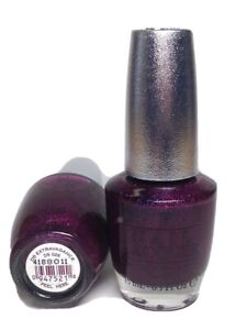 OPI Nail Polish Designer Series Extravagance DS026 Magenta W Silver Holographic