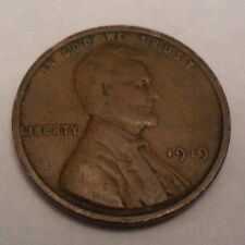 1919 P Lincoln Wheat Cent / Penny  *GOOD OR BETTER*  **FREE SHIPPING**
