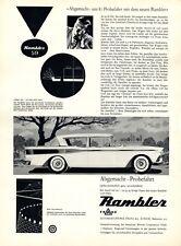 Rambler XL insegne 1959 Svizzera automobilistica opere Franz Zurigo Nash Hudson