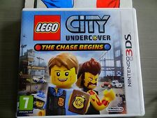 Jeu pour console 3DS LEGO CITY UNDERCOVER THE CHASE BEGINS complet