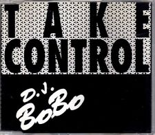 DJ BoBo - Take Control - CDM - 1994 - Eurodance 4TR Panic Records France Rare