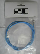 BIKE BICYCLE CYCLE FRONT BRAKE CABLE BLUE INNER AND OUTER CABLE