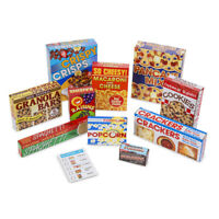Melissa & Doug Let's Play House! Grocery Shelf Boxes