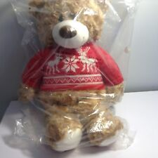 Avon 2015 Collectible Christmas plush Teddy Bear