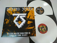 "Twisted Sister Club Daze Volume II White Vinyl Edition 2 X LP vinyl 12 "" VG+"