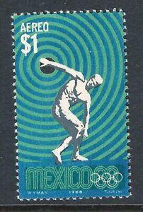 mae36  Mexico 1968 68 Olympic Games sc#C341 Discobolus