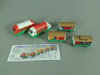 LOKS: Weihnachtszug 1999 - Komplettsatz + 1 Variante + 1 BPZ