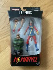 Marvel Legends Ms. Marvel action figure Sandman BAF series NIB