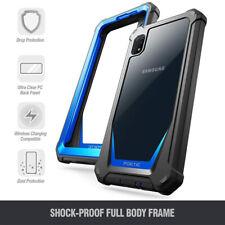 Samsung Galaxy A10e Case Poetic [Hybrid] Clear TPU Bumper Shockproof Cover Blue