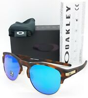 NEW Oakley Latch Key Sunglasses Tort Sapphire Polarized 9394-0755 AUTHENTIC Blue