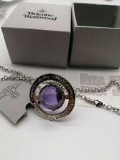 Vivienne Westwood Large 3D Orb Pendant Necklace New with Box