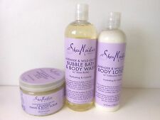 LAVENDER & WILD ORCHID BUBBLE BATH, BODY WASH & LOTION WITH SHEA BUTTER