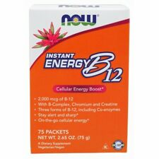 Instant Energy B-12 75/box 2000 mcg by Now Foods